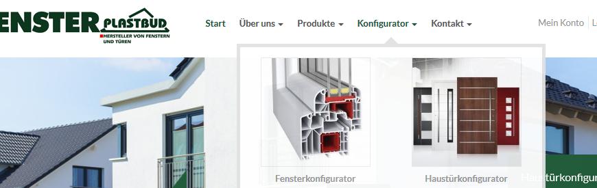 Plastbud-Relaunch mit verbesserten Konfiguratoren